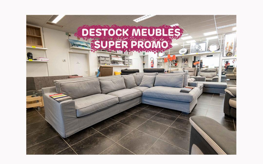 Supers promos dans votre Destock Meubles à Seraing