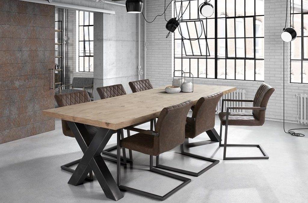 """TABLE """"XAVIER"""" EN CHENE MASSIF"""